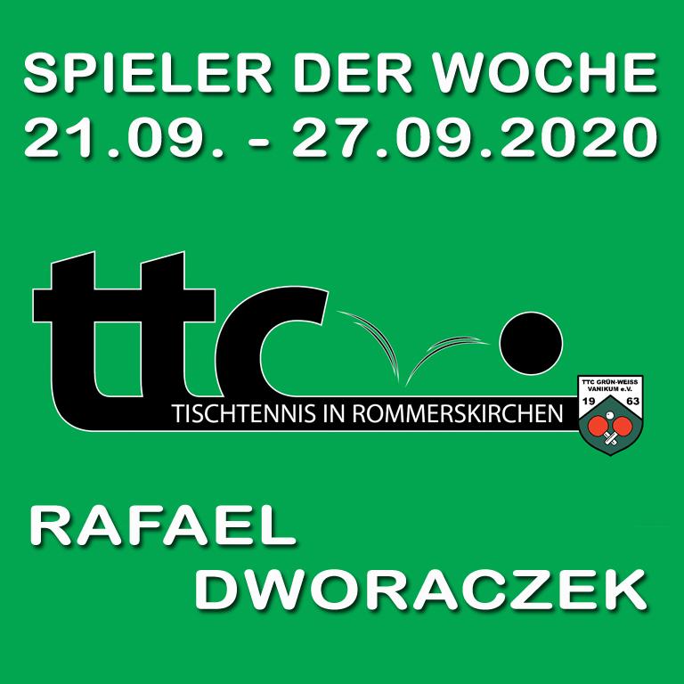 Spieler der Woche (21.09.-27.09.2020)