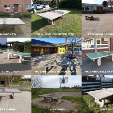 Tischtennis Outdoor | Steinplatten Guide Rommerskirchen
