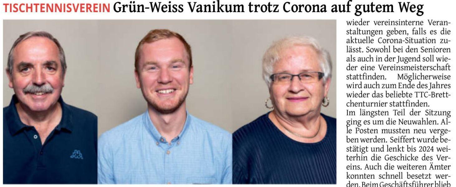 Zeitungsbericht Rheinischer Anzeiger